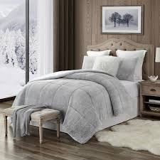 sherpa king california king comforter
