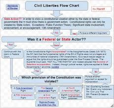 Civil Liberties Flow Charts