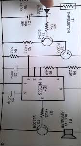 fire alarm circuit using 555 timer and thermistor youtube fire alarm using thermistor project report pdf at Fire Alarm Circuit Diagram