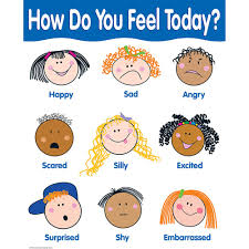 How Do You Feel Today Basic Skills Chart