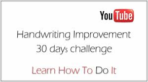 How To Improve Handwriting In 30 Days 3 Exercises To Improve