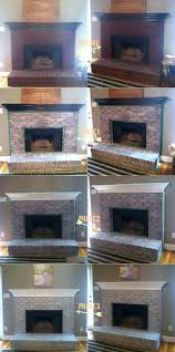 smlf painting brick fireplace ideas pictures painted surround white paint update