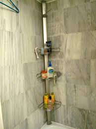 pole shower caddy tension pole shower amazing design valuable idea cads stainless chapter totally bath tension pole shower caddy
