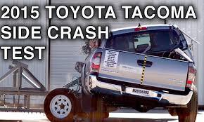 2015 Toyota Tacoma Double Cab Crash Test (Side Crash) | CrashNet1