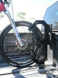 truck bed bike rack thule insta gater single homemade pvc tacoma truck bed bike rack