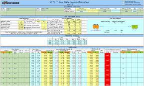 Legacy Fiberoptics Excel Based Reporting Software