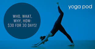 who what why how 30 for 30 days by yoga pod