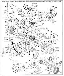 Tecumseh HH60-105125J Parts Diagram for Engine Parts List #1