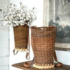 wicker wall decor wicker wall decor willow hanging basket wall decor antique farmhouse wicker wall accessories