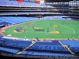 Seat View From Section 219 At Rogers Centre Toronto Blue Jays