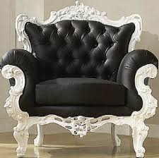 Black and white victorian chair I want it!! I don't know where i would put  it but I want it.   future home stuffs   Pinterest   Victorian, Black and  House