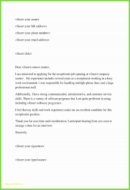 Cover Letter For Receptionist How To Do A Cover Letter For Resume