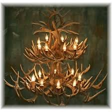 hidalgo whitetail deer antler chandelier 34 antler 16 light