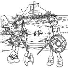 In this movie, hiccup, a young viking who aspires to hunt dragons becomes the unlikely friend of a young dragon. How To Train Your Dragon Coloring Pages Free Printable