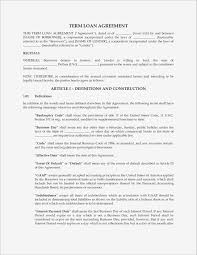 Personal Loan Contract Agreement Loan Agreement Template Word Samples Business Document 14