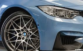 Yas Marina Blue BMW M3 With A Competition Package Gets IND ...