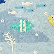 under the sea rug swatch the land of nod