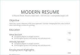 Sample Resume Objective Examples In Resume Career Objective A Resume