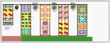 Small Picture Raised Bed Vegetable Garden Layout Gardening Ideas