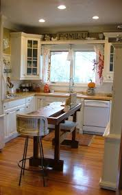For Narrow Kitchens Small Kitchen Island Ideas With Seating Image Of Stationary