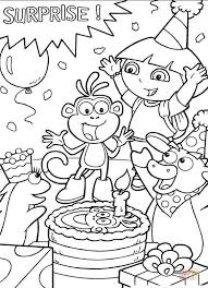 Small Picture Dora the Explorer coloring pages Free Coloring Pages