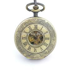 popular wind up pocket watches buy cheap wind up pocket watches h188 brand new antique style bronze tone double open skeleton hand wind up pocket watch w