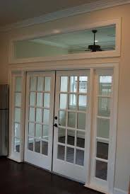 Nice internal windows and transom for separation of spaces Eg home