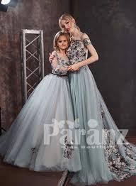 Designer Dresses For Mother And Daughter