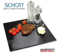 Details Zu Grillplatte Grillunterlage Glasplatte Glas Rillenstruktur 300x265 Mm