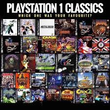 sony playstation 1 games. which playstation classic is your favorite? sony 1 games e