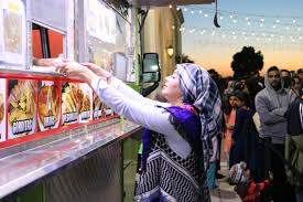 tortillas last night at the second taco trucks at every mosque event this month this time at the ic society of orange county in garden grove