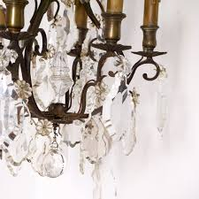 bronze crystal chandelier antique crystal french bronze chandelier omero home