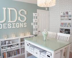 craft room home office design. Home Office Craft Room Design Ideas On (550x440) V