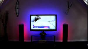 Home Led Mood Lighting 5m Rgb Tape Kit For Home Cinema Lighting