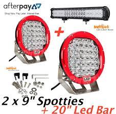 """9 pair cree led spotlights 20"""" cree led light bar wiring harn 9 pair cree led spotlights 20"""" cree led light bar wiring"""