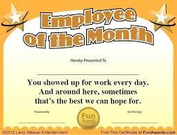 Employee Award Template Letter University Degree Sample Fake