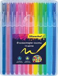 <b>Silwerhof</b> Набор <b>фломастеров</b> Кисть 12 цветов 877069-12 ...