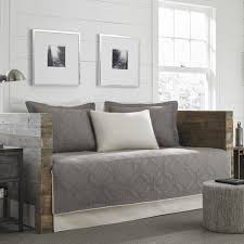 day bed cover. Interesting Cover Eddie Bauer Axis Grey 5Piece Daybed Cover Set With Day Bed L