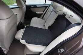 jetta 2016 center console front seats folded rear seat