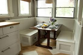 eating nook furniture. Dining Room Nook Table Small Custom Breakfast Set With White Wood Storage Bench Under Seat Plus Oak Ideas Photos Eating Furniture