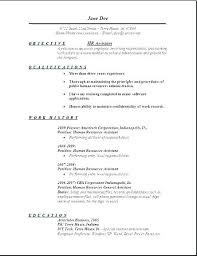 Resume Templates Monster Resume Examples Monster Resume Examples ...