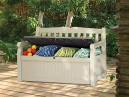 picture of eden garden outdoor storage bench 1