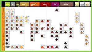 Hair Color Conversion Chart Matrix To Wella Lajoshrich Com