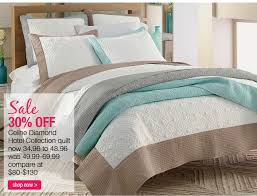 Stein Mart: Biggest Home Event! Quilts Just $24.98! | Milled & Sale 30% OFF Celine Diamond Hotel Collection quilt shop now Adamdwight.com