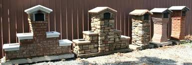 stone mailbox designs. Brick Mailbox Designs And Stone Mailboxes St Louis B