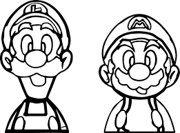 Mario Brothers Coloring Page Free Coloring Pages On Art Coloring Pages