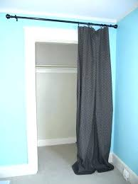 curtains for closet doors curtain instead of door curtain closet door curtain instead of closet door curtains for closet doors