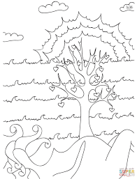 Small Picture Tree of Life coloring page Free Printable Coloring Pages