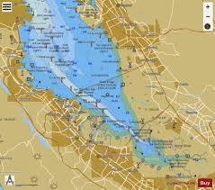 San Francisco Bay Southern Part Marine Chart