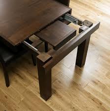 bentley designs akita walnut rectangular extending dining table 160cm 200cm